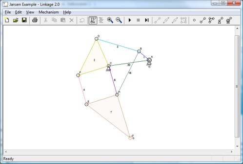 Linkage2 Editor Window